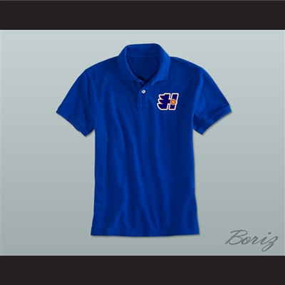 Halifax highlanders coaching staff embroidered logo polo shirt for High quality embroidered polo shirts